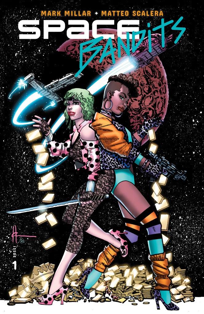 Space Bandits #1 Cover Howard Chaykin Variant