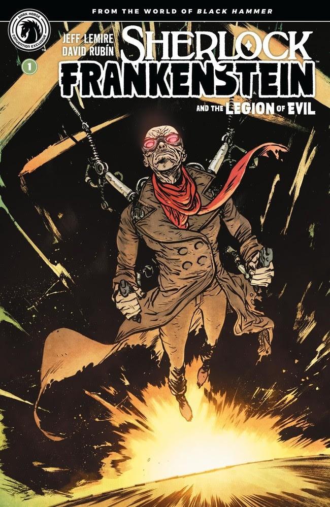 Sherlock Frankenstein and the Legion of Evil #1 Convention Exclusive (Daniel Warren Johnson)