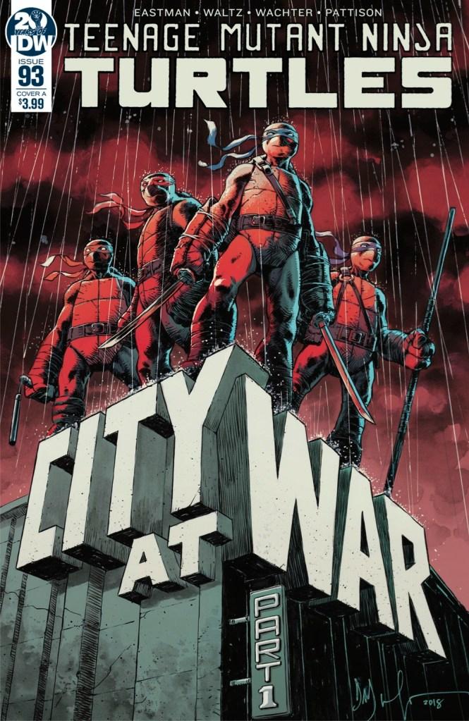 Teenage Mutant Ninja Turtles #93