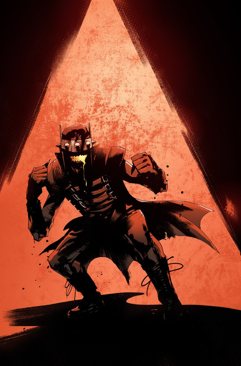 cover to THE BATMAN WHO LAUGHS #7 by Jock - art not final