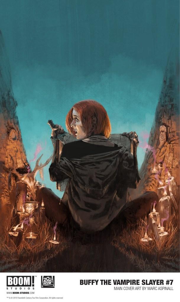 Buffy the Vampire Slayer #7 Marc Aspinal
