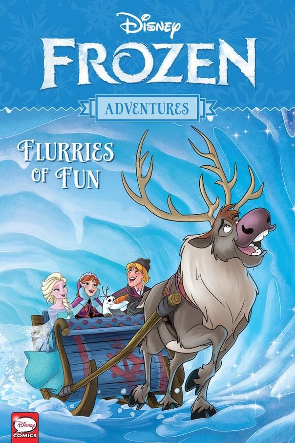 Disney Frozen Adventures: Flurries of Fun TPB