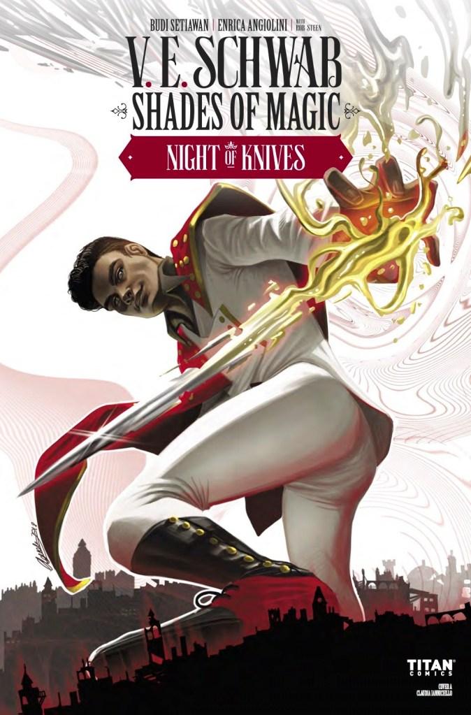 SHADES OF MAGIC: NIGHT OF KNIVES #5