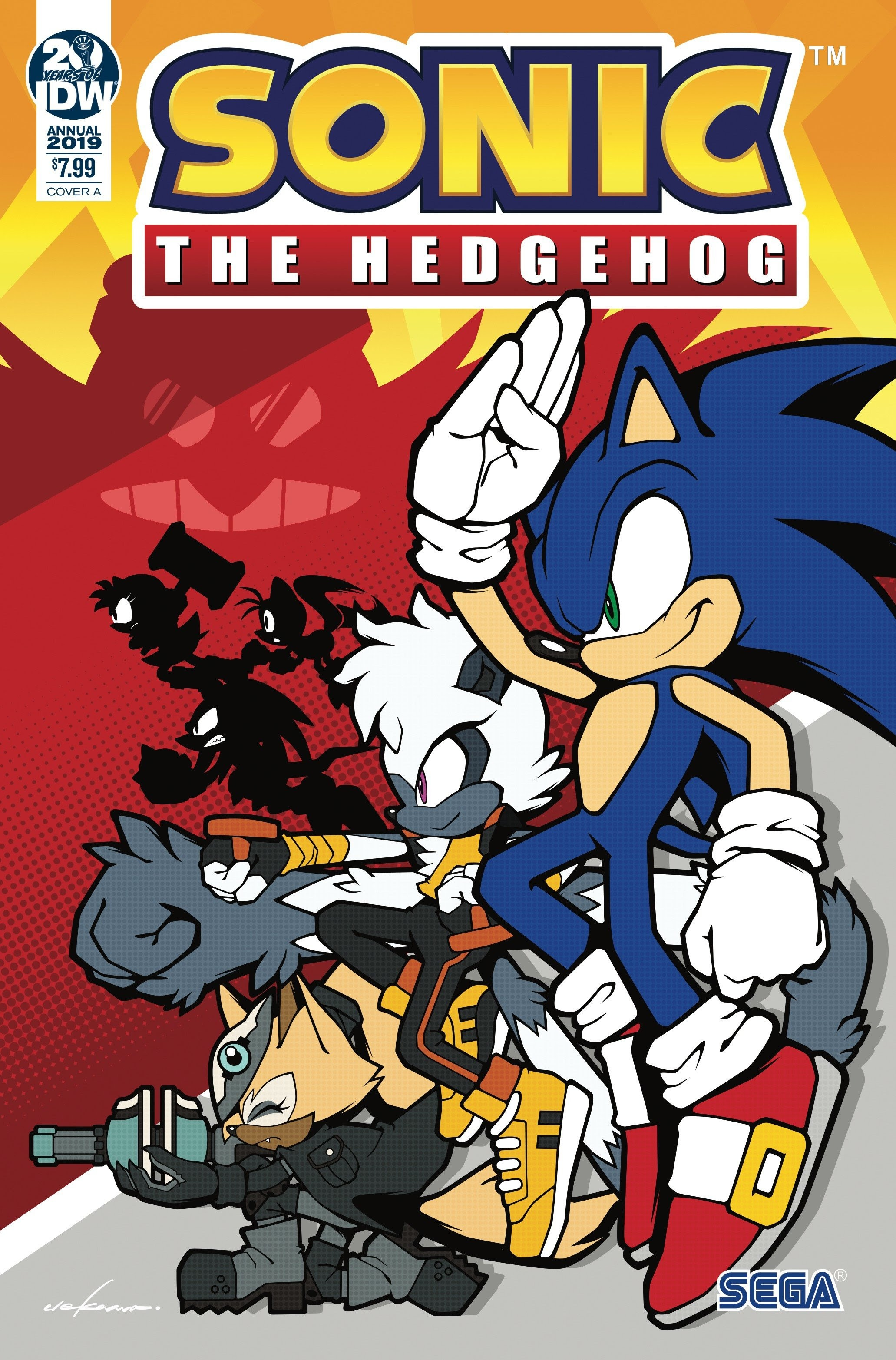 Idw S Sonic The Hedgehog Grabs Gold Rings With Multiple Sell Outs Graphic Policy