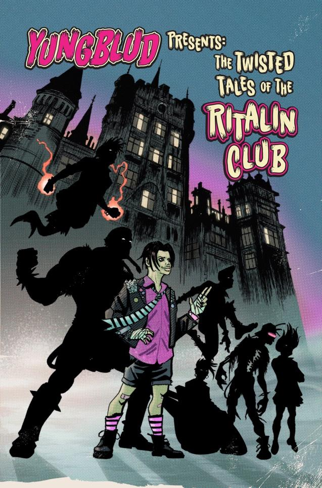 YUNGBLUD PRESENTS THE TWISTED TALES OF THE RITALIN CLUB standard edition