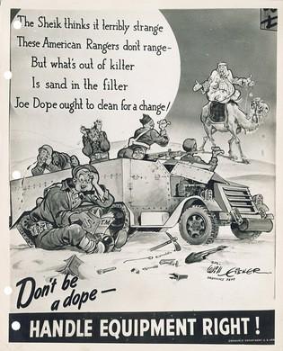gov comics joe dope sand in tank PS precursor