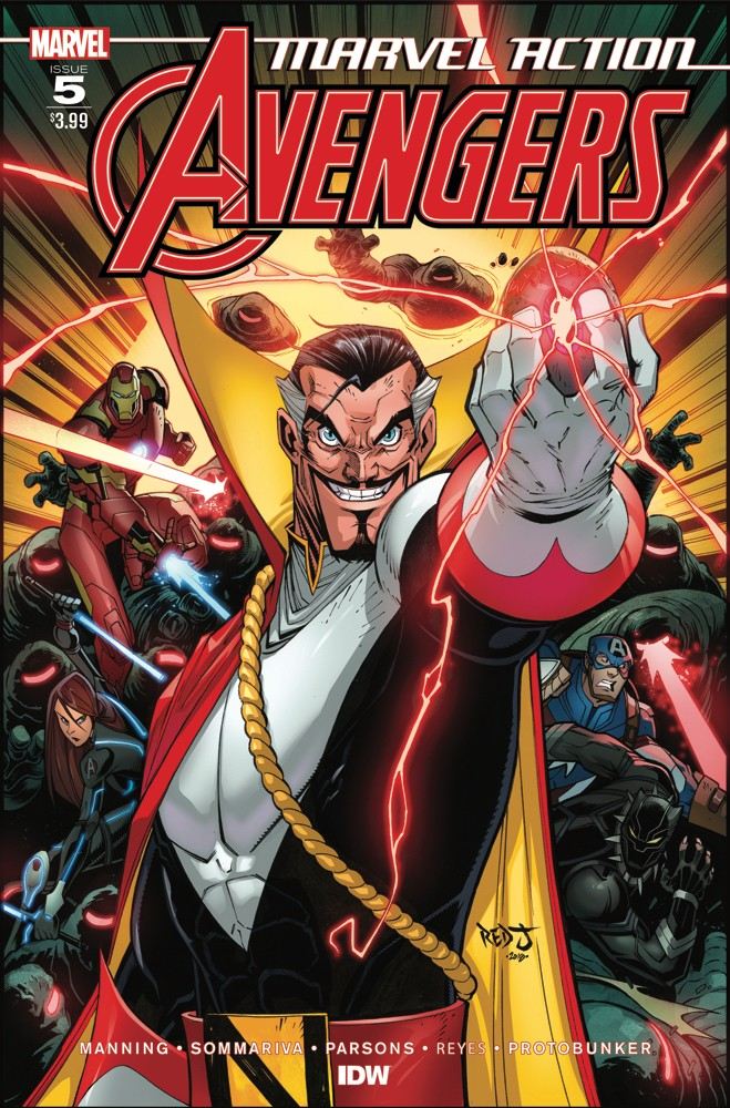 Marvel Action: Avengers #5
