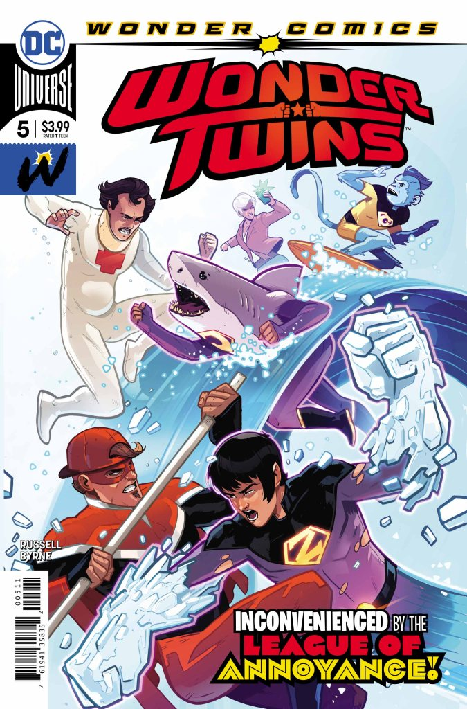 Wonder Twins #5 (of 6)
