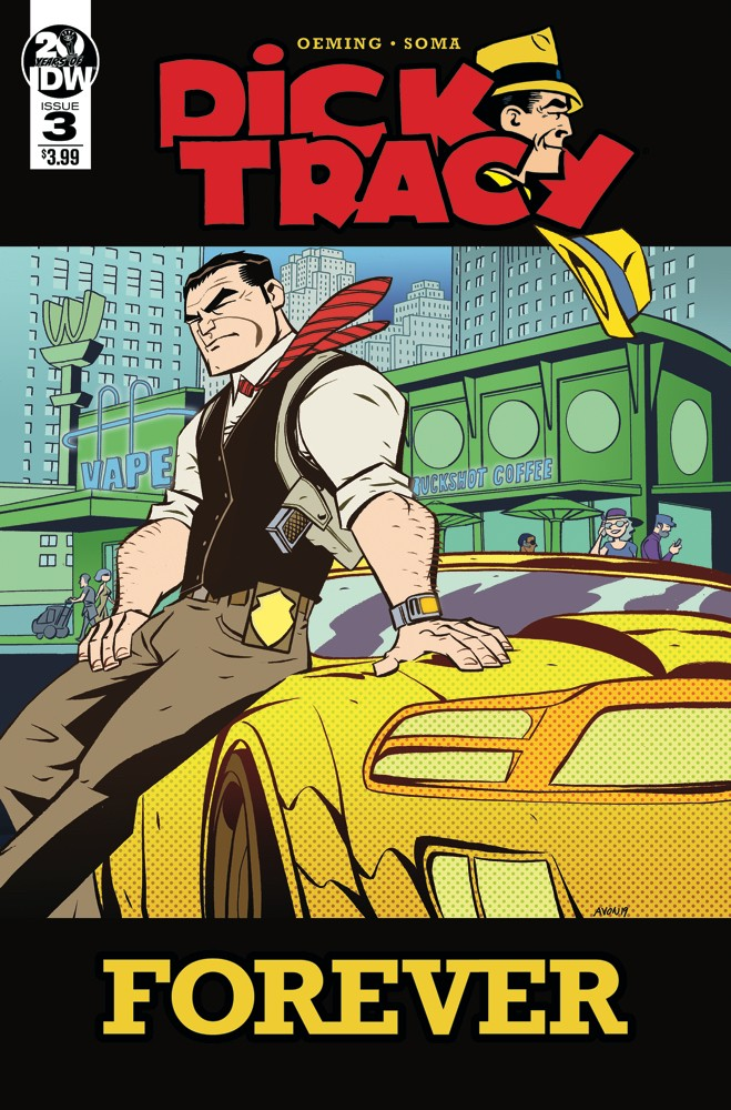 Dick Tracy Forever #3 preview.