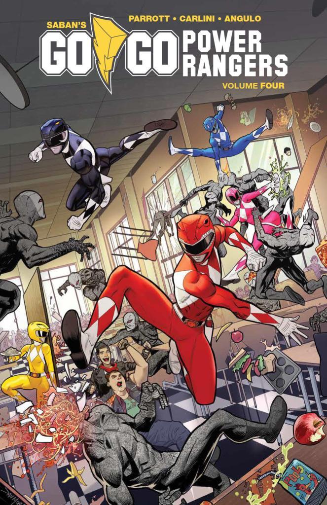 Go Go Power Rangers Vol. 4 SC