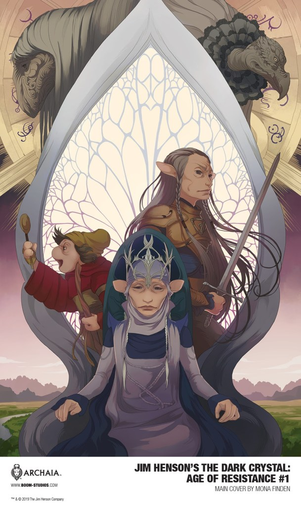 Jim Henson's The Dark Crystal: Age of Resistance #1 main cover Mona Finden
