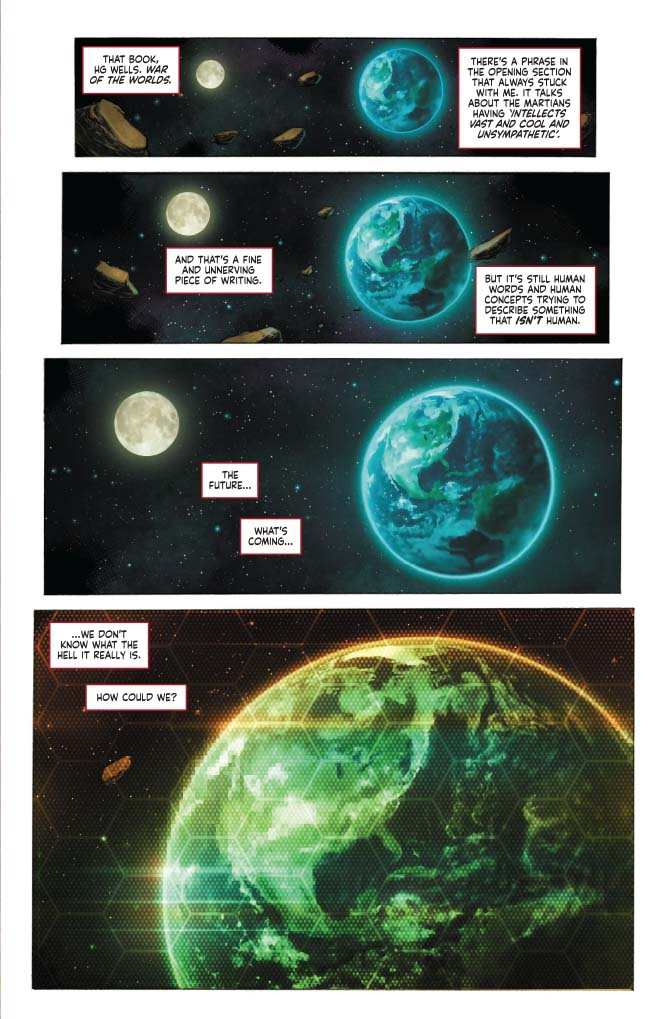 Preview: Project Superpowers: Evolution HC | Graphic Policy
