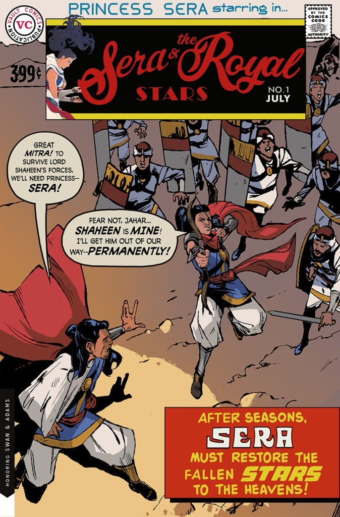 Sera and the Royal Stars #1 vault vintage cover