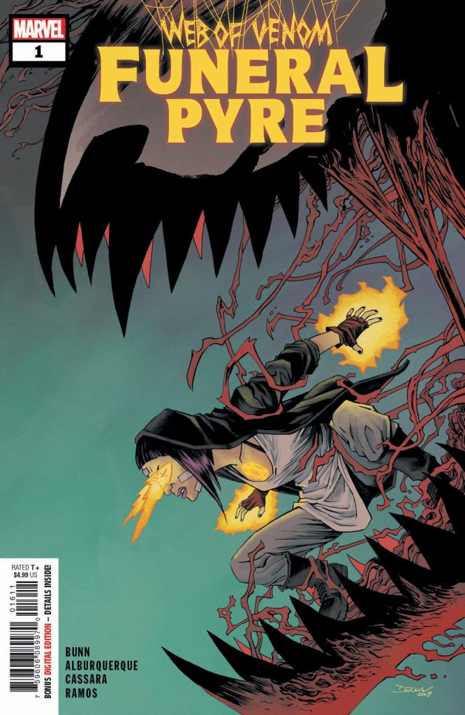 Web of Venom: Funeral Pyre #1