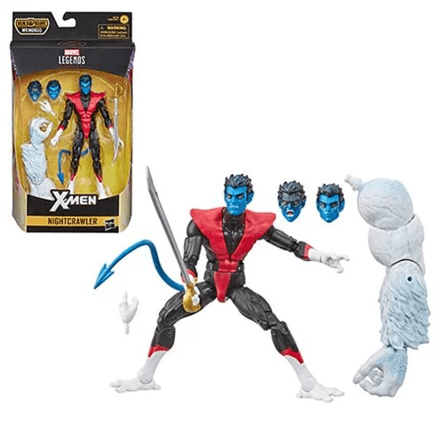 X-Force Marvel Legends Nightcrawler