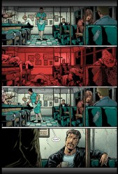 Words: John Ostrander. Pencils, Jim Calafiore, Colors Jason Wright