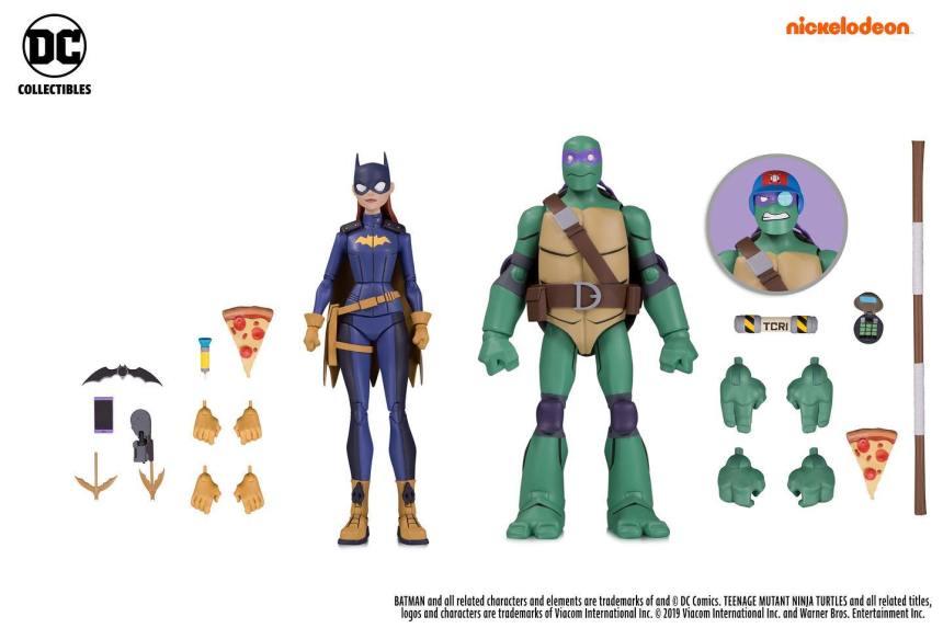 Batgirl and Donatello