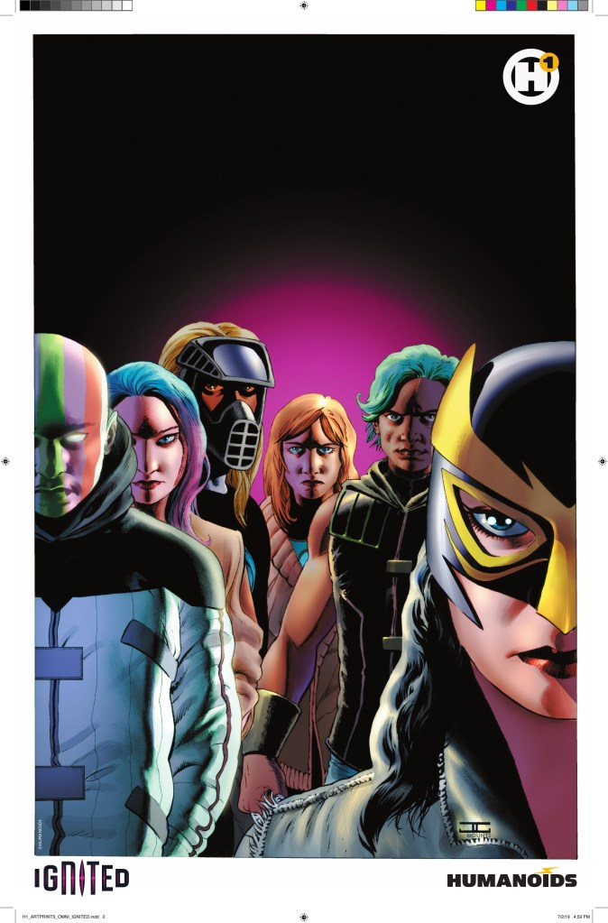 Limited Edition Ignited print by John Cassaday