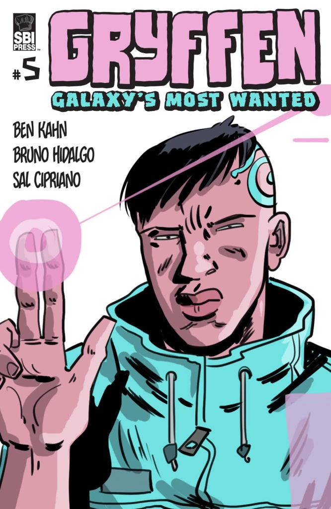 GRYFFEN: GALAXY'S MOST WANTED #5 (of 12)