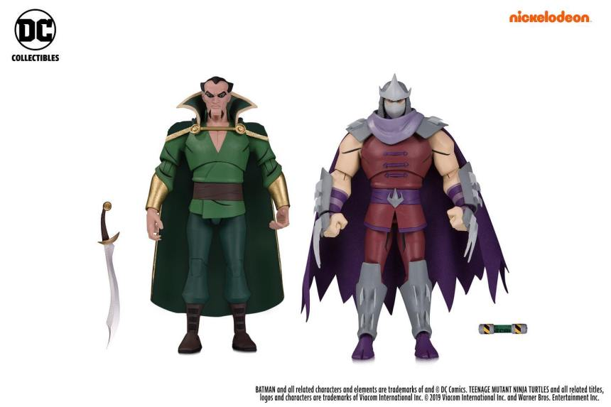 Ra's Al Ghul and Shredder