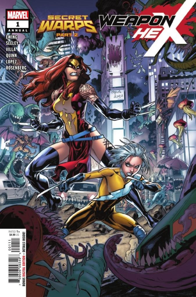 Secret Warps: Weapon Hex Annual #1