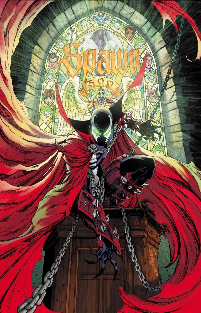 Spawn #300 J. Scott Campbell cover