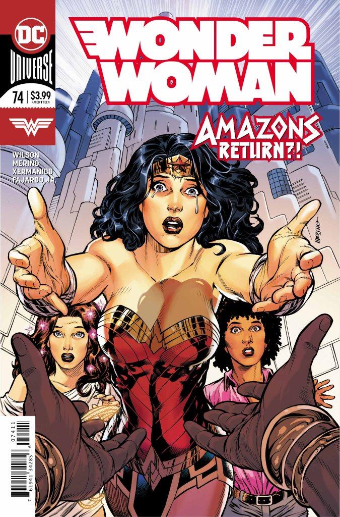 Wonder Woman #74