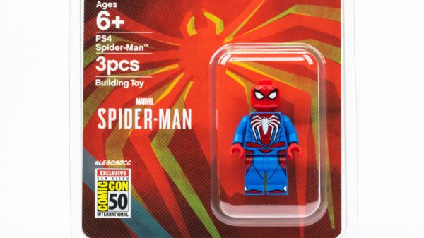 SDCC 2019: LEGO Suits Up with a Marvel's Spider-Man PS4 Minifig