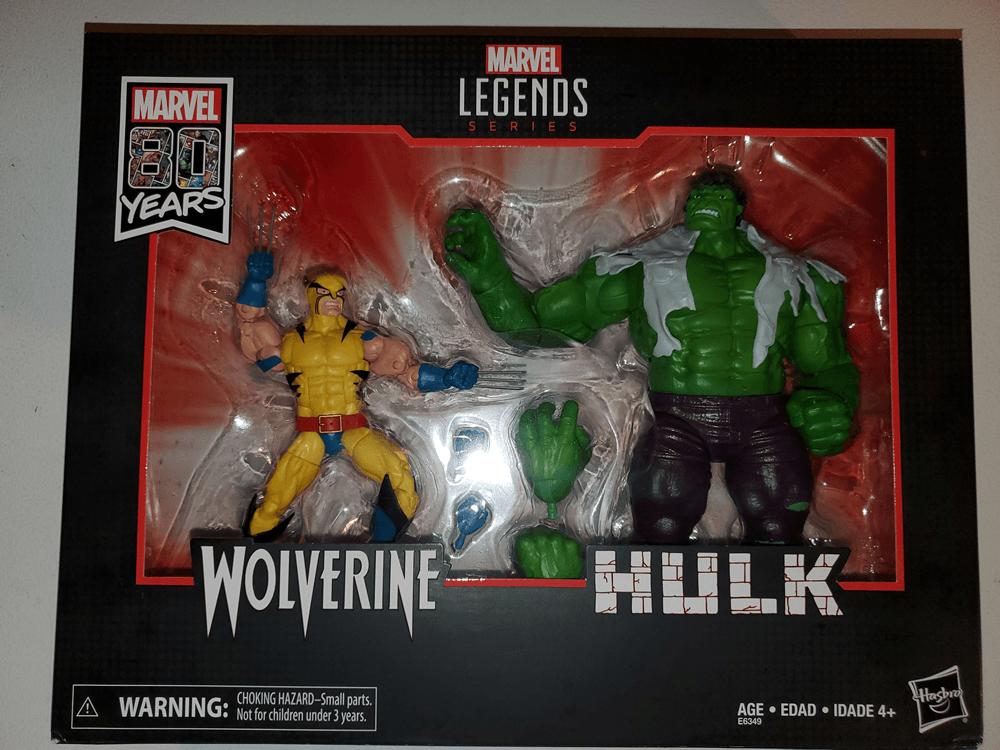 Super-Articulate: Marvel Legends 80th Anniversary Wolverine and Hulk