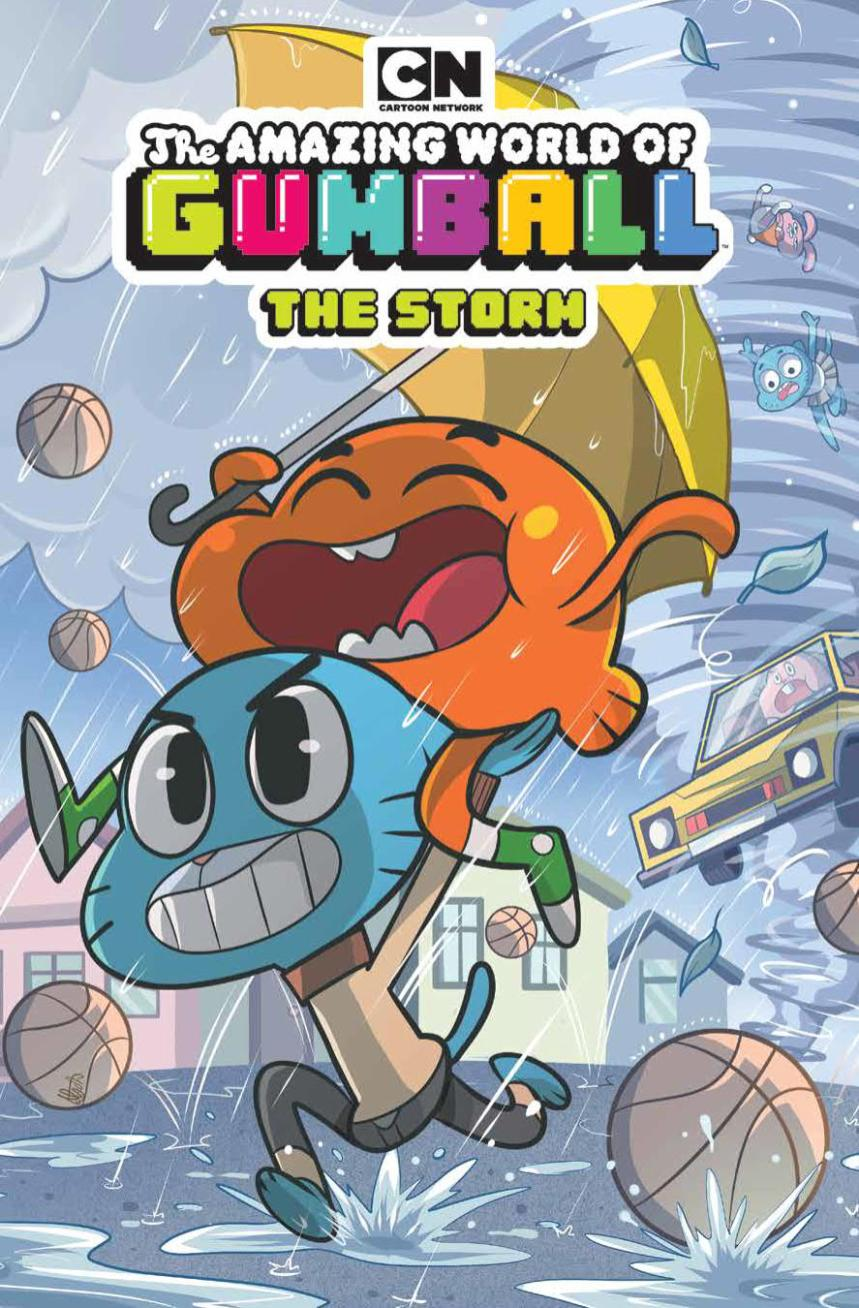 Amazing World Of Gumball: The Storm OGN SC