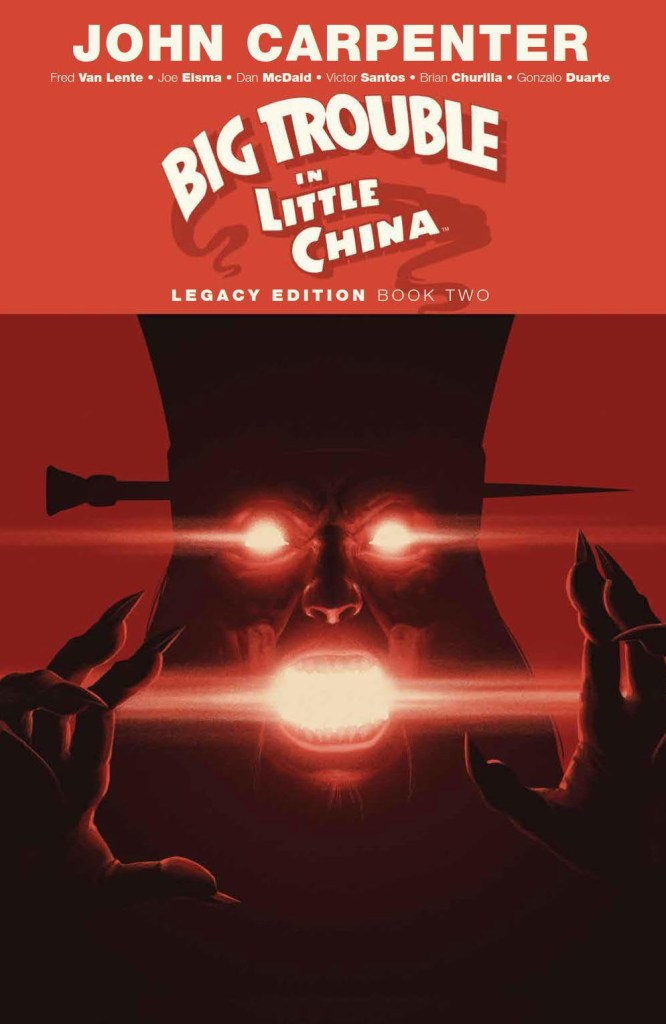 Big Trouble In Little China Legacy Edition Book Two SC
