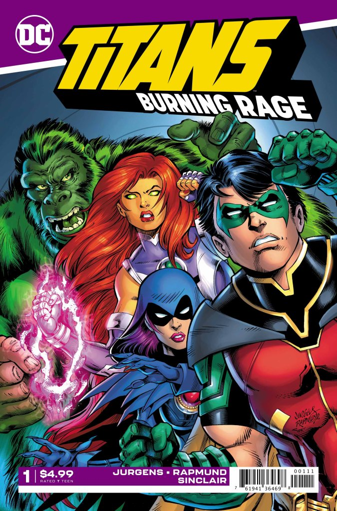 Titans: Burning Rage #1 (of 7)