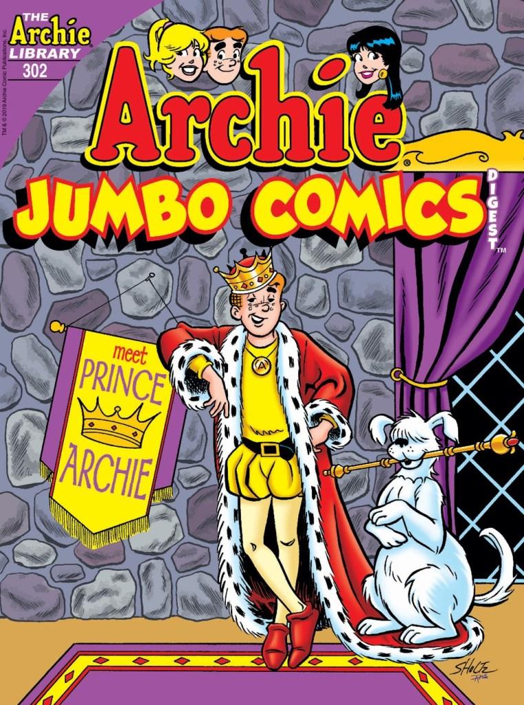 ARCHIE JUMBO COMICS DIGEST #302