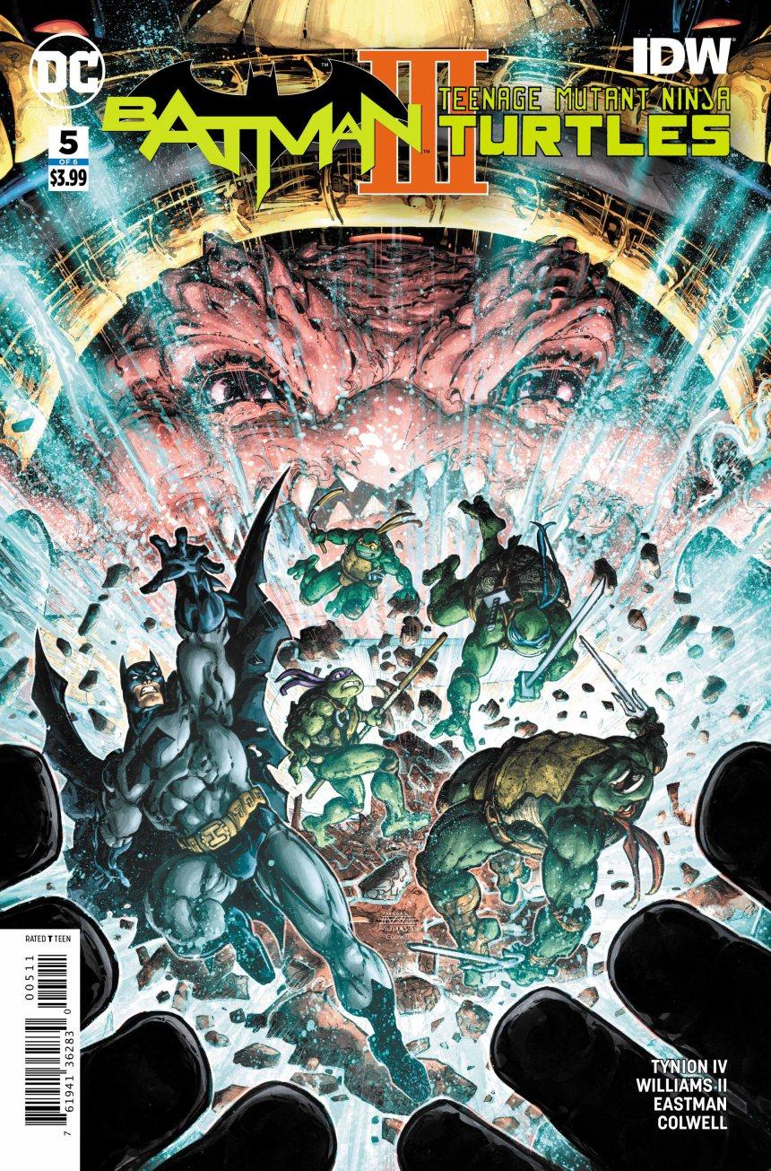Batman/Teenage Mutant Ninja Turtles III #5 (of 6)
