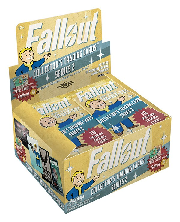 Fall Out Trading Cards Vol. 2 Foil Pack Box