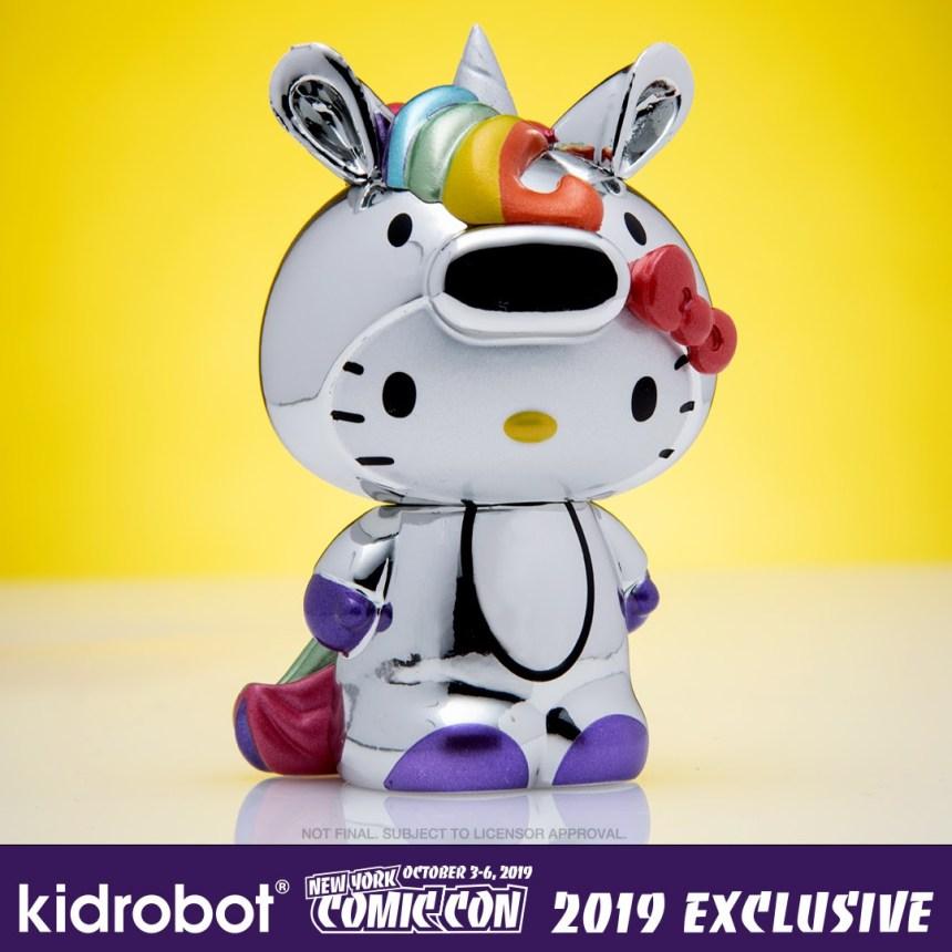 """Kidrobot x Sanrio 3"""" Hello Kitty Unicorn"""