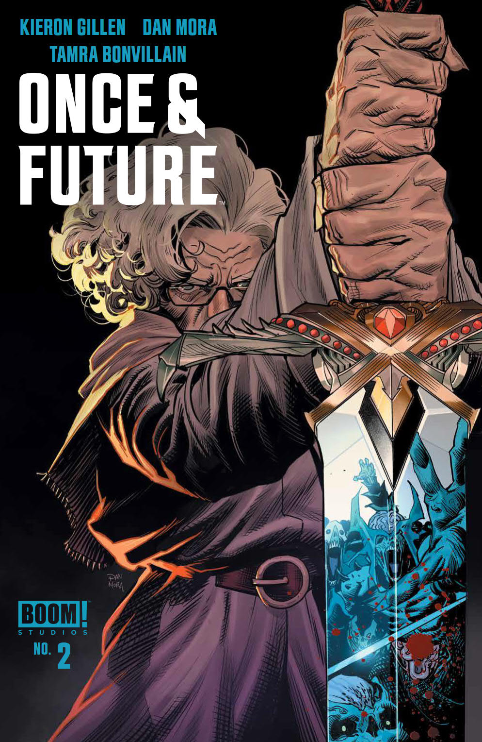 Once & Future #2 Gets a Third Printing Before Release