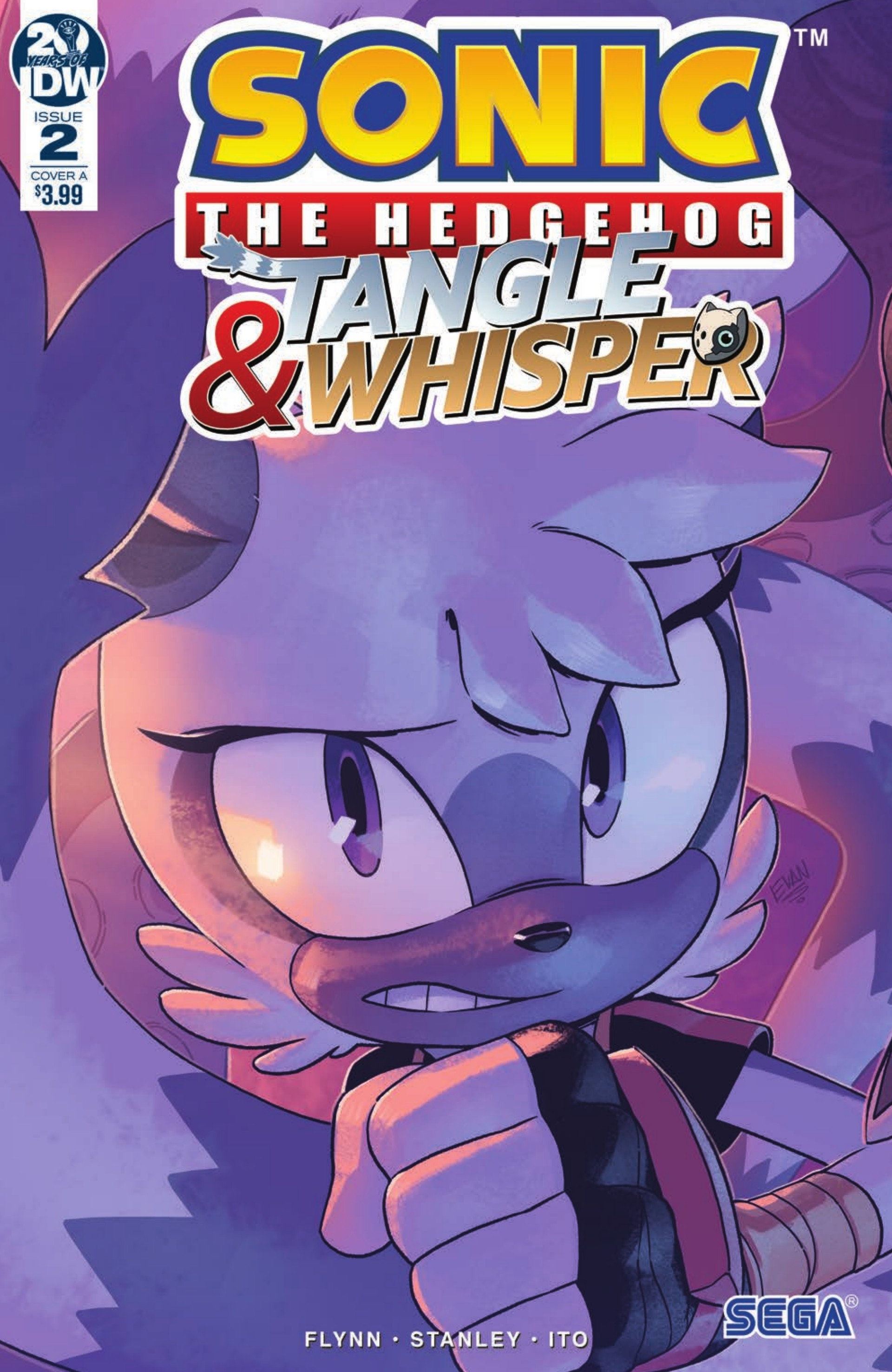 Preview Sonic The Hedgehog Tangle Whisper 2 Graphic Policy