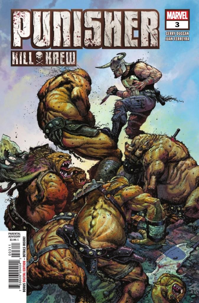 Punisher Kill Krew #3 (of 5)