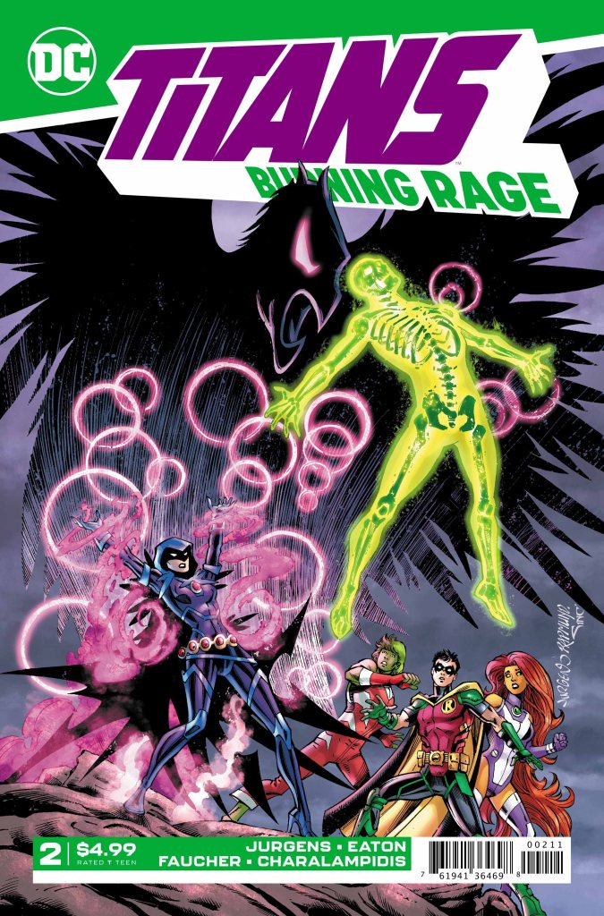 Titans: Burning Rage #2 (of 7)