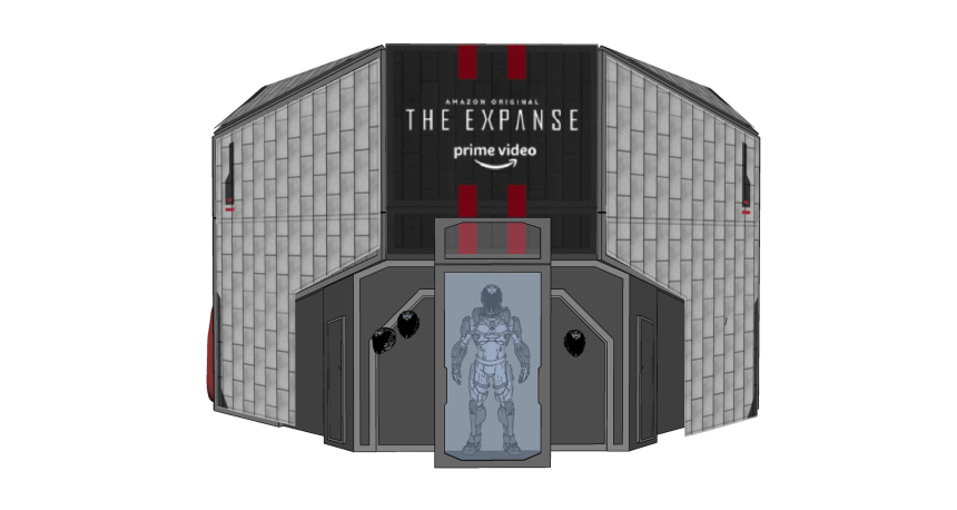 The Expanse NYCC Activation