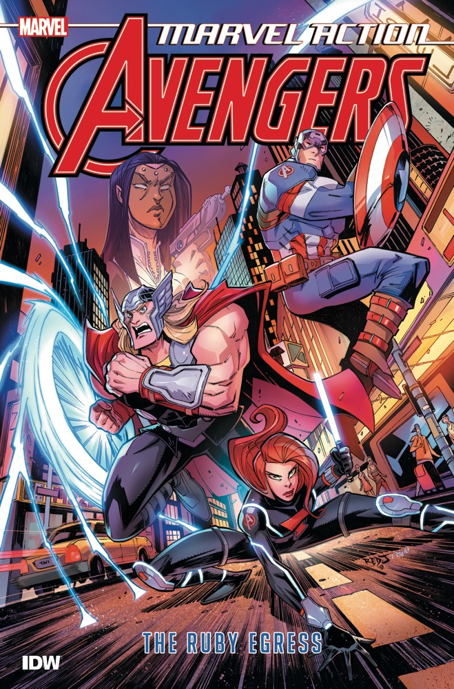 Marvel Action: Avengers: The Ruby Egress