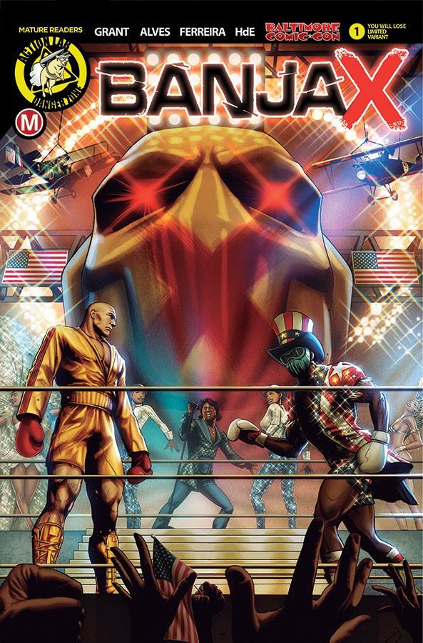 BANJAX #1 Baltimore Comic Con variant