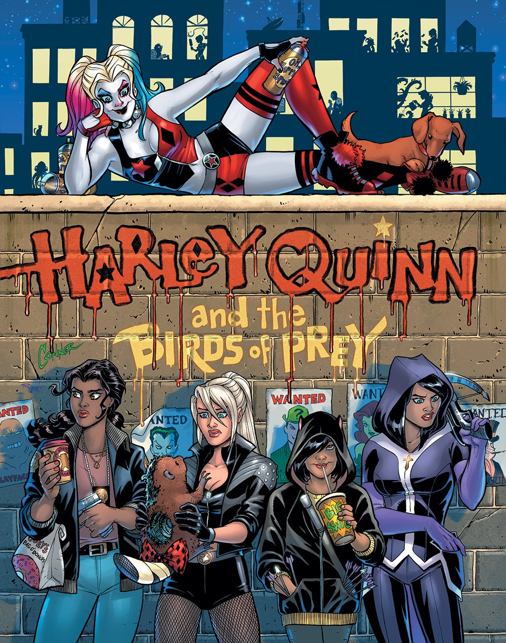 NYCC 2019: Amanda Conner and Jimmy Palmiotti Reunite with Harley Quinn in February 2020