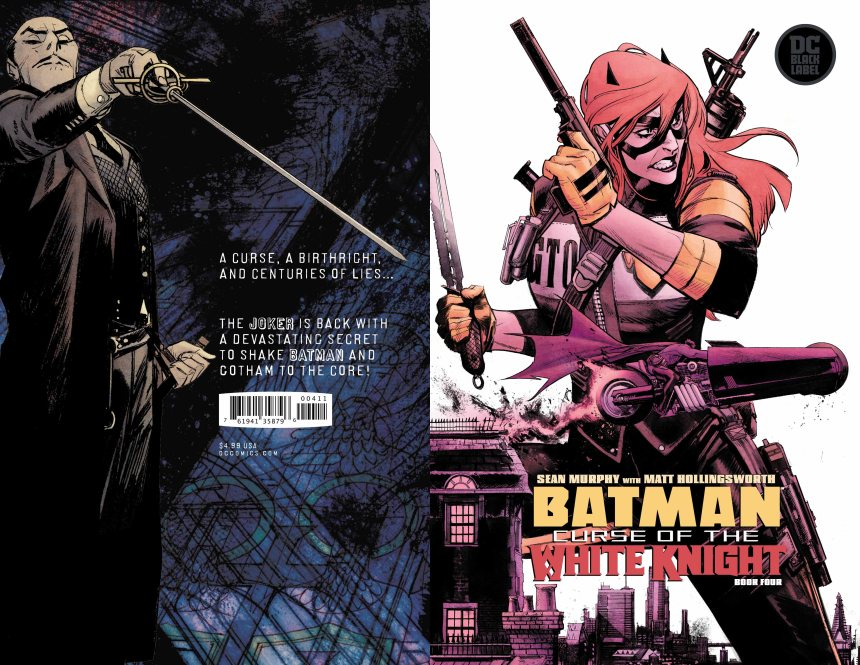 Batman: Curse of the White Knight #4 (of 8)