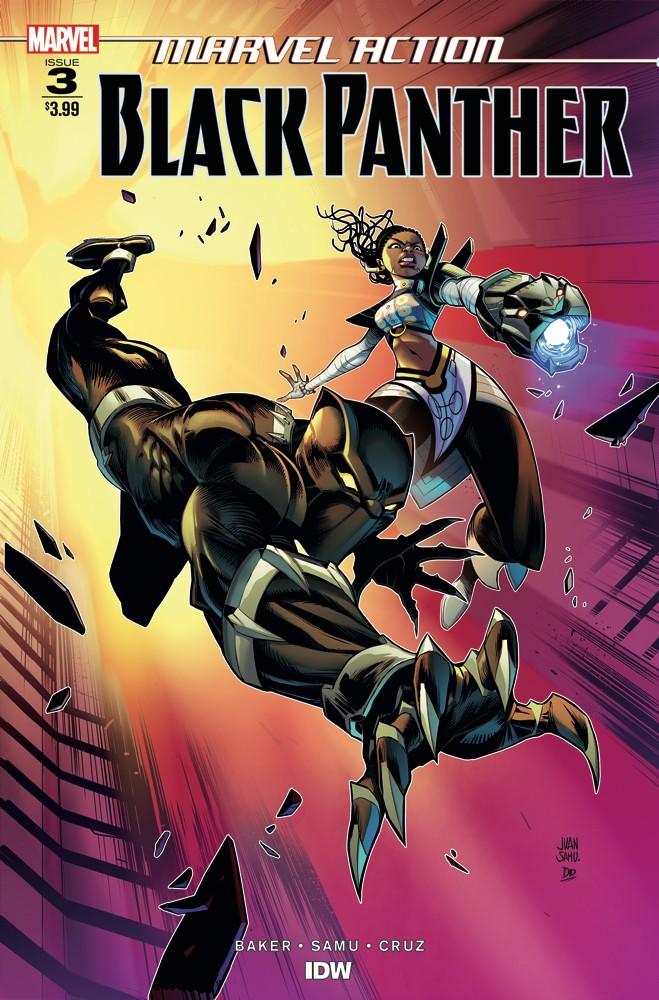 Marvel Action: Black Panther #3