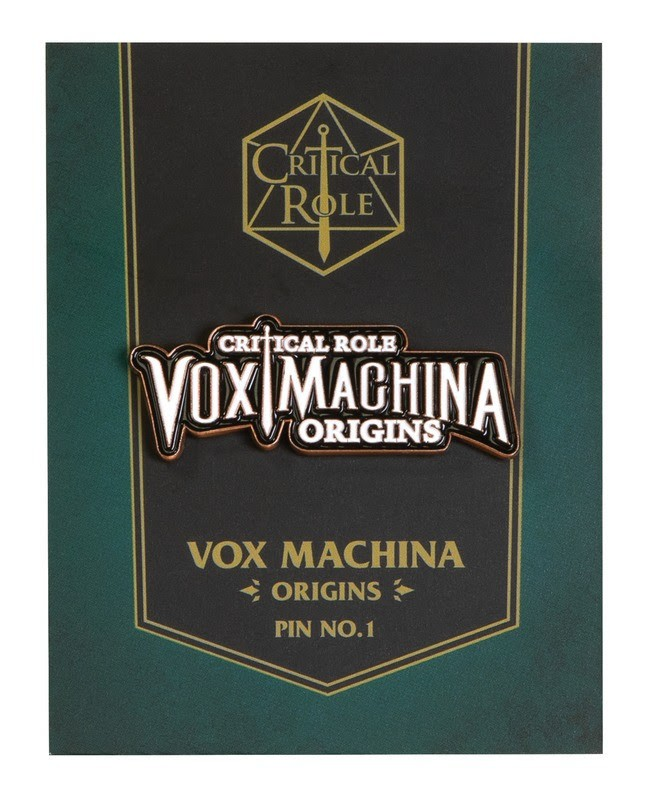 Critical Role: Vox Machina Origins Logo Pin