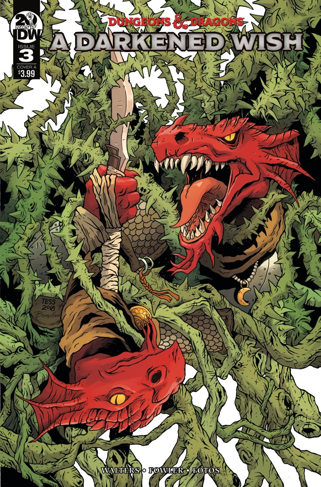 Dungeons & Dragons: A Darkened Wish #3
