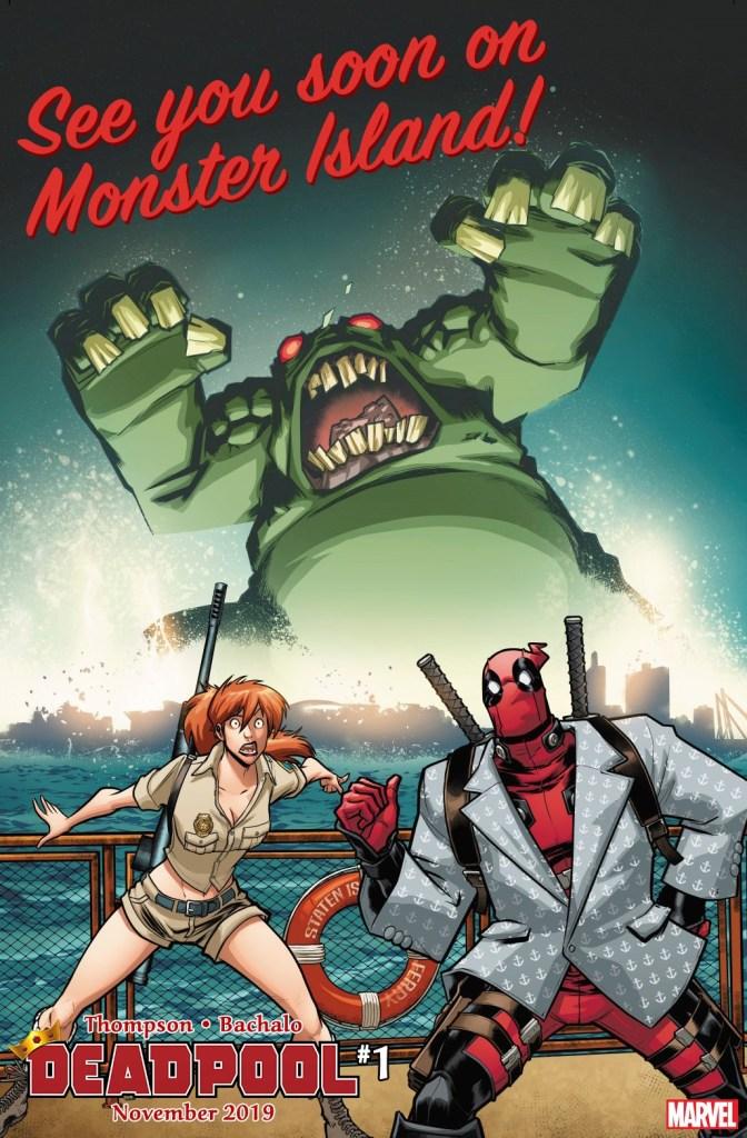 Deadpool #1 teaser
