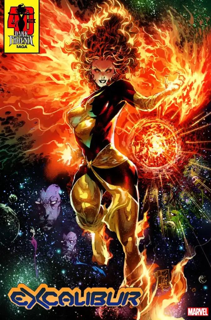 The Dark Phoenix Rises in Marvel's 40th Anniversary Variants